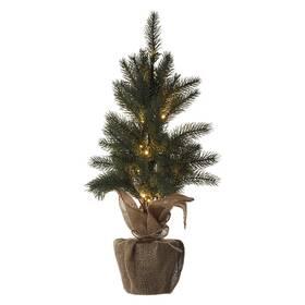 LED dekorace EMOS 20 LED vánoční stromek, 52 cm, 3x AA, vnitřní, teplá bílá, časovač (DCTW01)