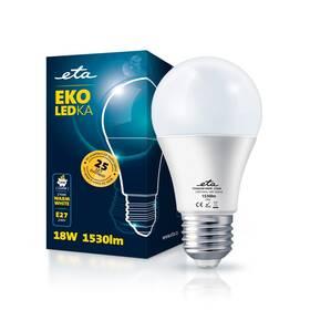 Žárovka LED ETA EKO LEDka klasik 18W, E27, teplá bílá (A65W18WW)