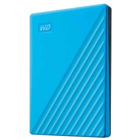 """Externí pevný disk 2,5"""" Western Digital My Passport Portable 2TB, USB 3.0 (WDBYVG0020BBL-WESN) modrý"""
