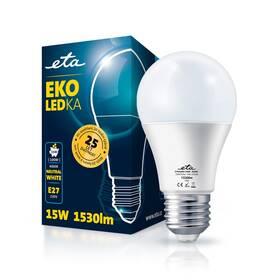 Žárovka LED ETA EKO LEDka klasik 15W, E27, neutrální bílá (A65W15NW)
