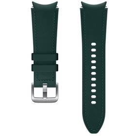Řemínek Samsung Galaxy Watch4 Classic 42mm, hybridní kožený (20 mm, S/M) (ET-SHR88SGEGEU) zelený