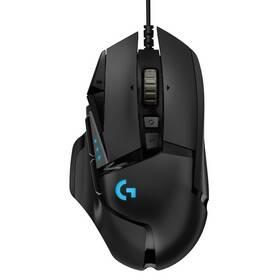 Myš Logitech Gaming G502 Hero High Performance (910-005470) černá