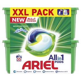 Ariel Allin1 gelové kapsle Mountain Spring 55ks box