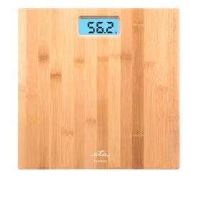 Osobní váha ETA Bamboo 9780 90000 hnědá