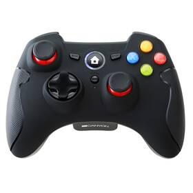 Gamepad Canyon CND-GPW6 pro PC, PS3, Android (CND-GPW6) černý