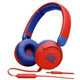 Sluchátka JBL JR 310 červená/modrá