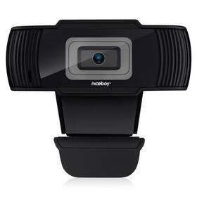 Webkamera Niceboy Stream černá