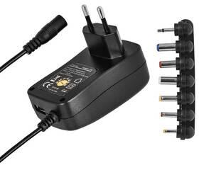 Napájecí adaptér EMOS 1000mA s hřebínkem, pulzní, USB (N3111)