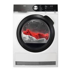 Sušička prádla AEG FiberPro T9DBB89BC 3DScan BlackEdition bílá barva