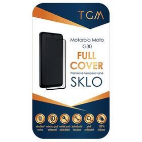 Tvrzené sklo TGM Full Cover na Motorola Moto G30 (TGMFCMOMOTG30) černé
