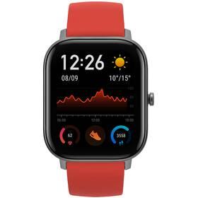 Chytré hodinky Amazfit GTS (A1914-VO) červené
