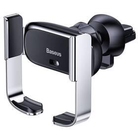 Držák na mobil Baseus Mini Electric Phone holder (SUHW01-0S) stříbrný