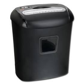 Skartovač Peach PS500-40 10 listů/ 21L/ křížový řez (PS500-40) černý