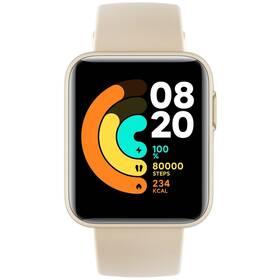 Chytré hodinky Xiaomi Mi Watch Lite (28820) béžové