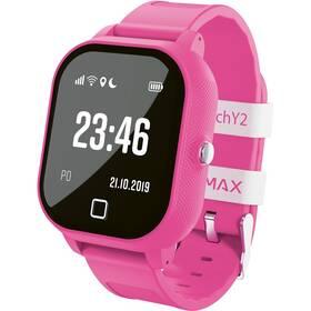 Chytré hodinky LAMAX WatchY2 - ZÁNOVNÍ - 12 měsíců záruka růžový