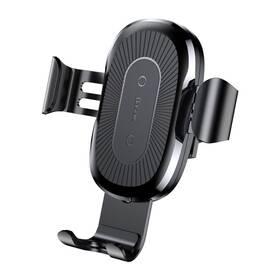 Držák na mobil Baseus Wireless Charger Gravity Phone holder (WXYL-01) černý