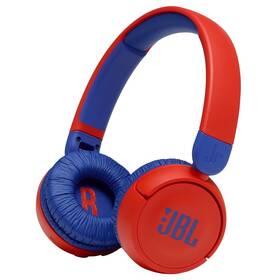 Sluchátka JBL JR 310BT červená/modrá