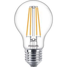 Žárovka LED Philips klasik, 8,5W, E27, teplá bílá (8718699762995)