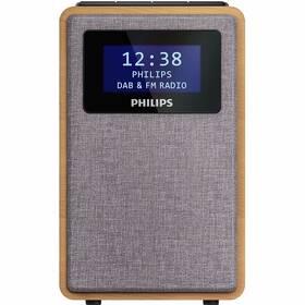 Radiopřijímač s DAB+ Philips TAR5005 dřevo