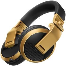 Sluchátka Pioneer DJ HDJ-X5BT-N (HDJ-X5BT-N) zlatá