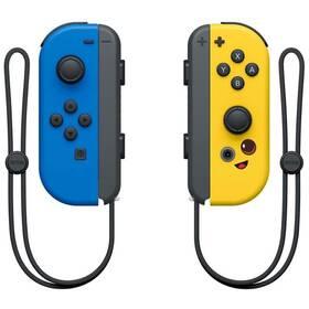 Gamepad Nintendo SWITCH Joy-Con Pair Fortnite Edition (NSP068) modrý/žlutý