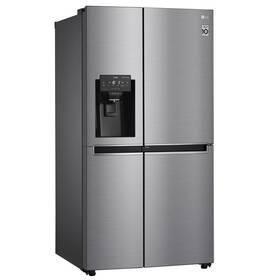 Americká lednice LG GSJ760PZZE stříbrná