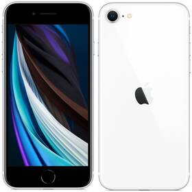Mobilní telefon Apple iPhone SE (2020) 128 GB - White (MHGU3CN/A)