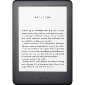 Čtečka e-knih Amazon Kindle Touch 2020 s reklamou (EBKAM1155) černá