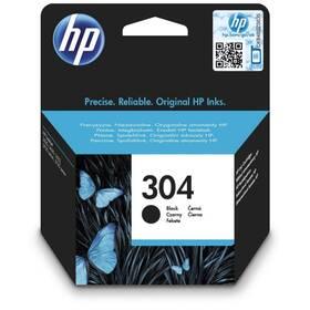 Inkoustová náplň HP 304, 120 stran (N9K06AE) černá