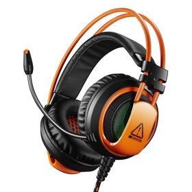 Headset Canyon CND-SGHS5 (CND-SGHS5) černý/oranžový