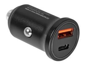 Adaptér do auta Avacom CarPRO 2, 1x USB, 1x USB-C PD (NACL-PD2X-KK) černý