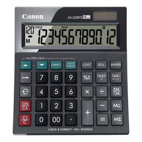 Kalkulačka Canon AS-220RTS (4898B001) černá