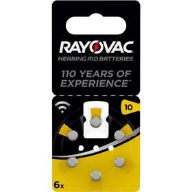 Baterie do naslouchadel Varta Rayovac 10, blistr 6ks (4610945416)