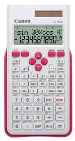 Kalkulačka Canon F-715SG (5730B005) bílá/růžová