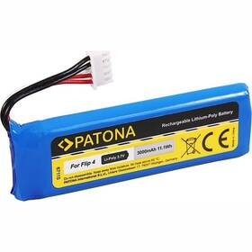 Baterie PATONA pro reproduktor JBL Flip 4 3000mAh 3,7V Li-Pol GSP872693 01 (PT6711) modrá