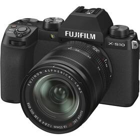 Digitální fotoaparát Fujifilm X-S10 + 18-55 mm černý