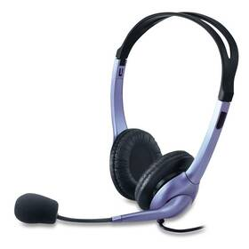 Headset Genius HS-04S (31710025100) černý/stříbrný