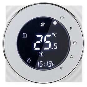 Termostat iQtech SmartLife GCLW-W, WiFi termostat pro bojlery a kotle s bezpotenciálovým spínáním (IQTGCLW-W) bílý