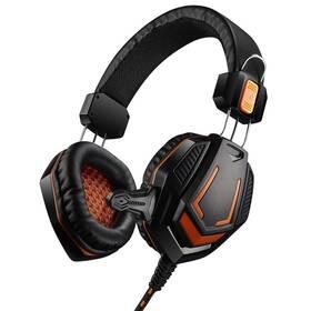 Headset Canyon CND-SGHS3A (CND-SGHS3A) černý/oranžový