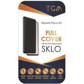 Tvrzené sklo TGM Full Cover na Poco X3 (TGMFCXIPOX3) černé