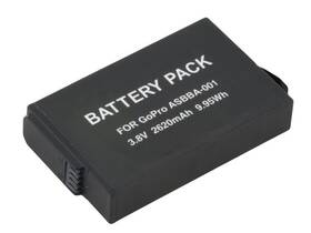 Baterie Avacom GoPro ASBBA-001 Li-Ion 3.8V 2620mAh 9.95Wh (VIGO-AS001-656)