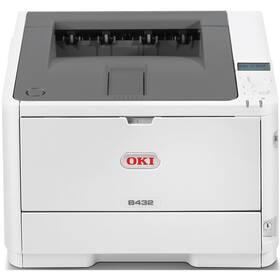 Tiskárna laserová OKI B432dn (45762012) bílá