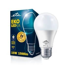Žárovka LED ETA EKO LEDka klasik 15W, E27, teplá bílá (A65W15WW)