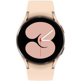 Chytré hodinky Samsung Galaxy Watch4 40mm (SM-R860NZDAEUE) růžové