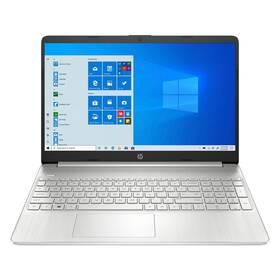 Notebook HP 15s-fq3611nc (4R5M4EA#BCM) stříbrný