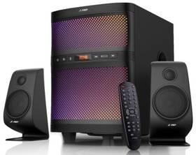 Reproduktory Fenda F&D F580X 2.1, bluetooth, rádio, USB, dálkové ovládání (F580X) černé