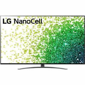 Televize LG 55NANO86P stříbrná