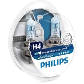 Autožárovka Philips WhiteVision H4, 2ks (12342WHVSM)