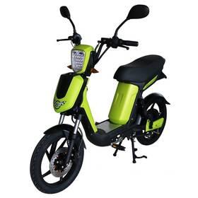 Elektrická motorka RACCEWAY E-Babeta E-BABETA, zelený-metalíza zelená barva