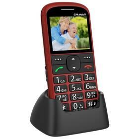 Mobilní telefon CPA Halo 11 Senior (TELMY1011RE) červený